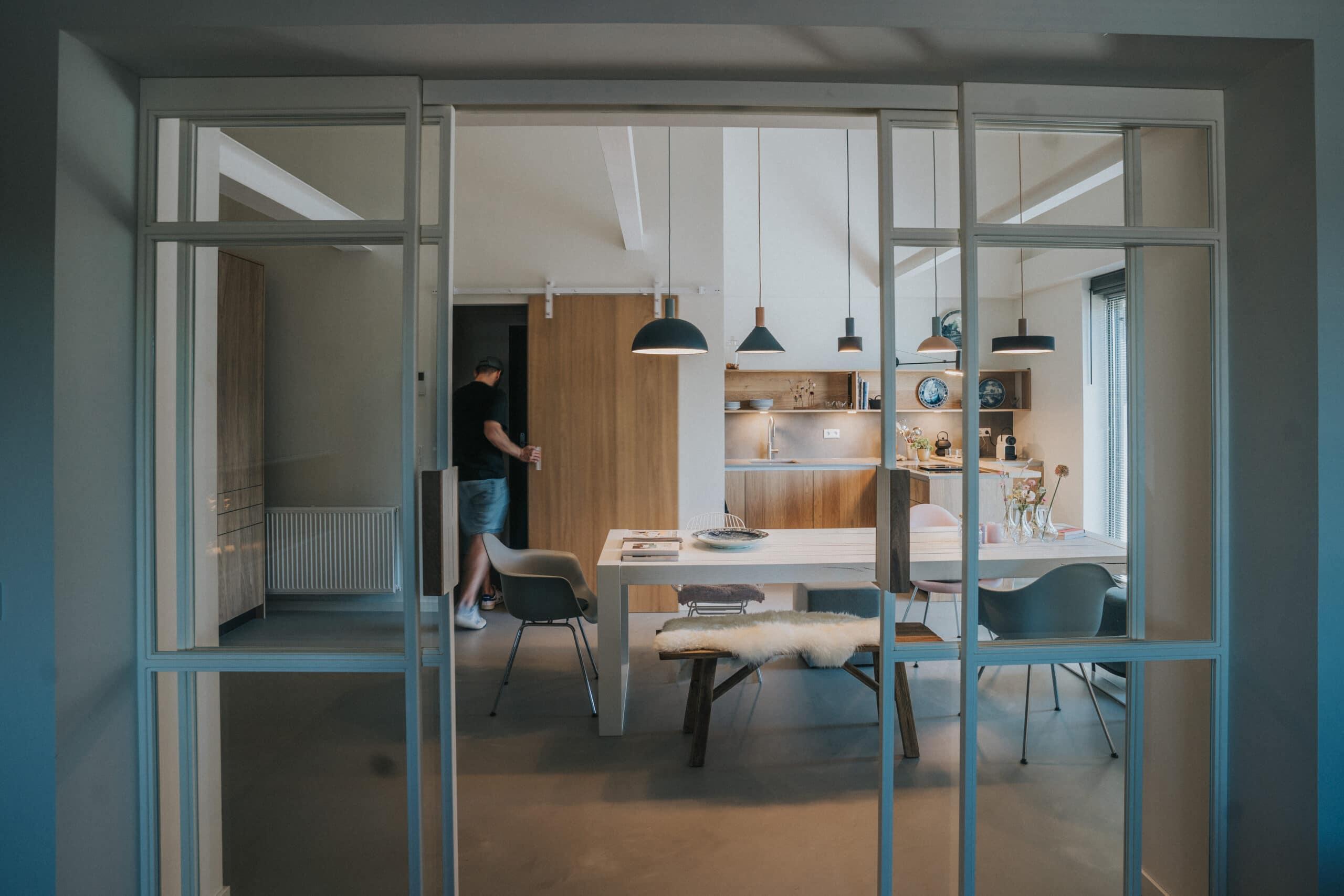 foto de luwte voor interieur project van studio baak