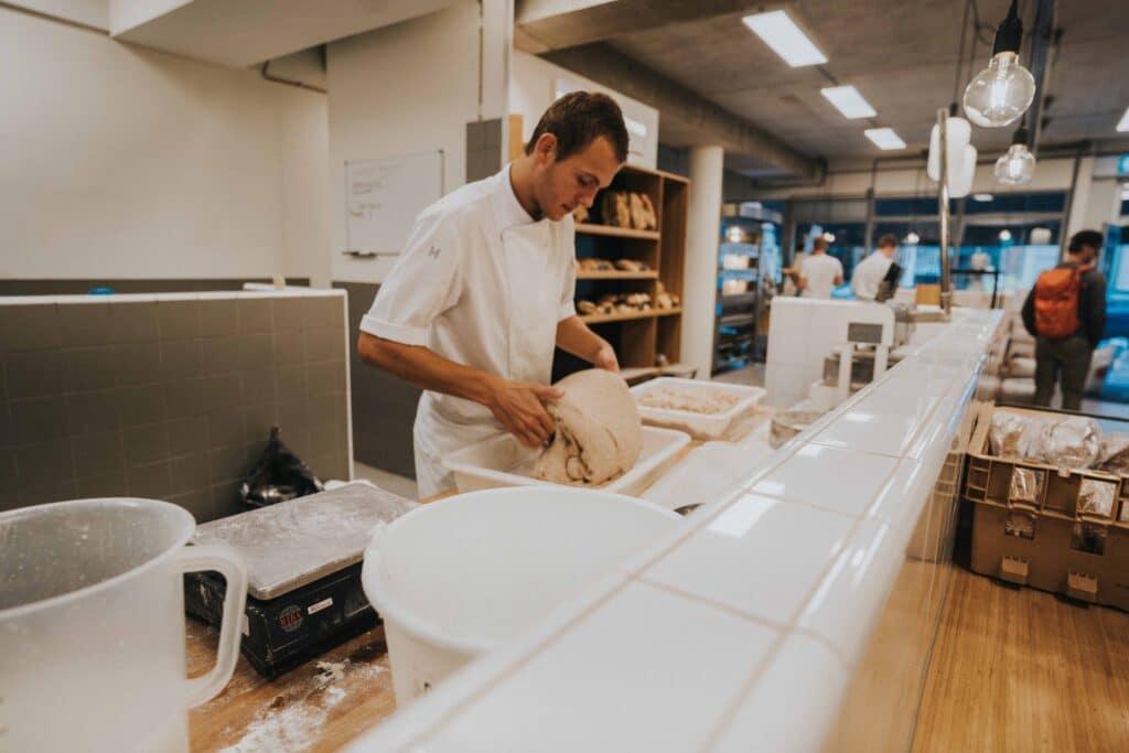 foto echt brood voor interieur project van studio baak